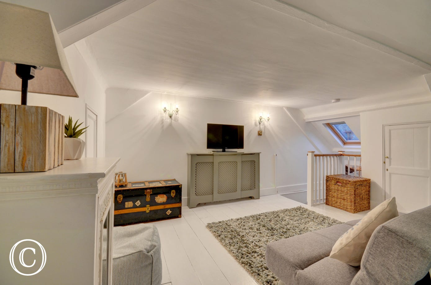 Children of all ages will love the attic snug room