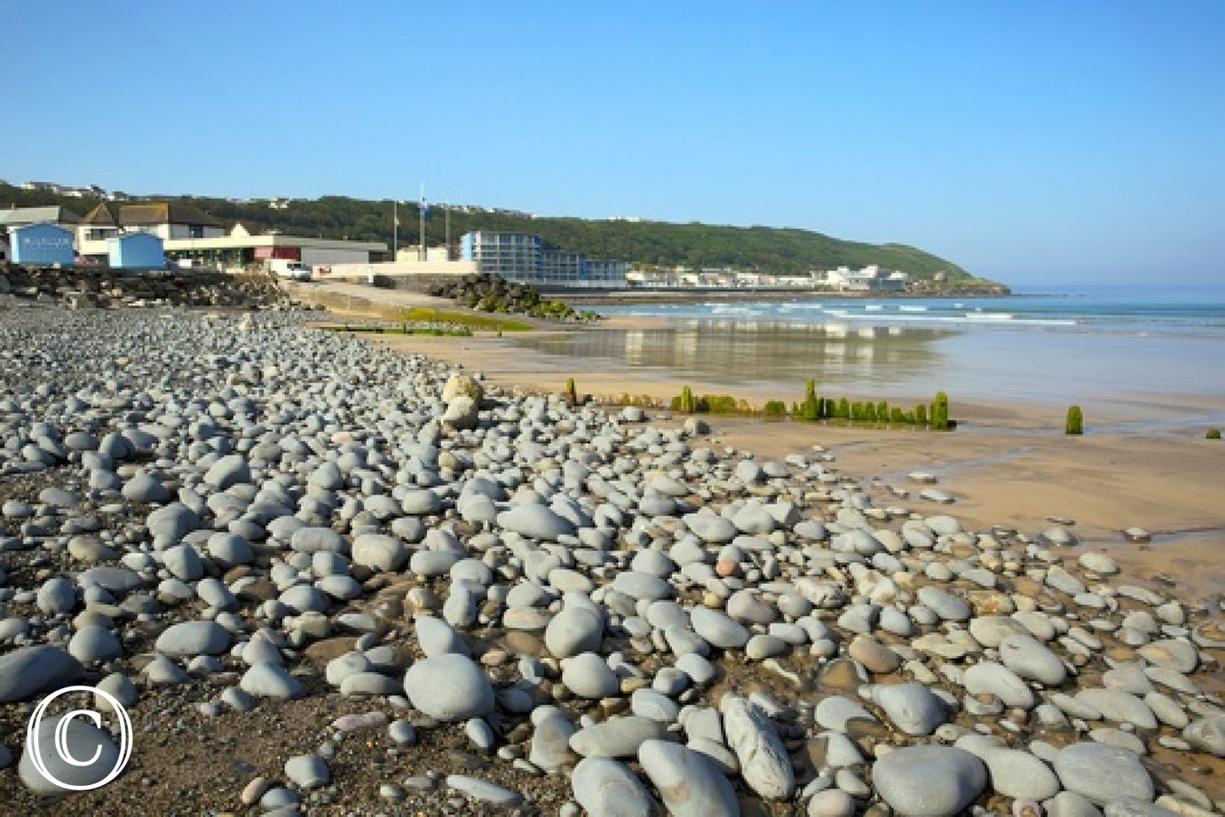 Just a short stroll away from the lovely Westward Ho! beach