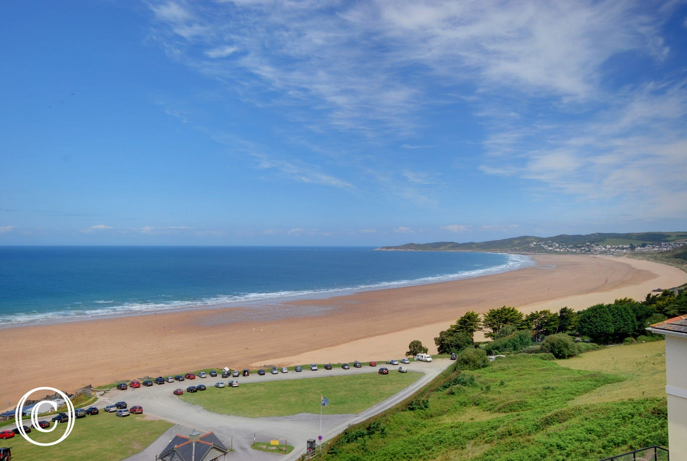 Clifton Court overlooks the glorious beach at Putsborough, two miles from Croyde and three miles from Woolacombe