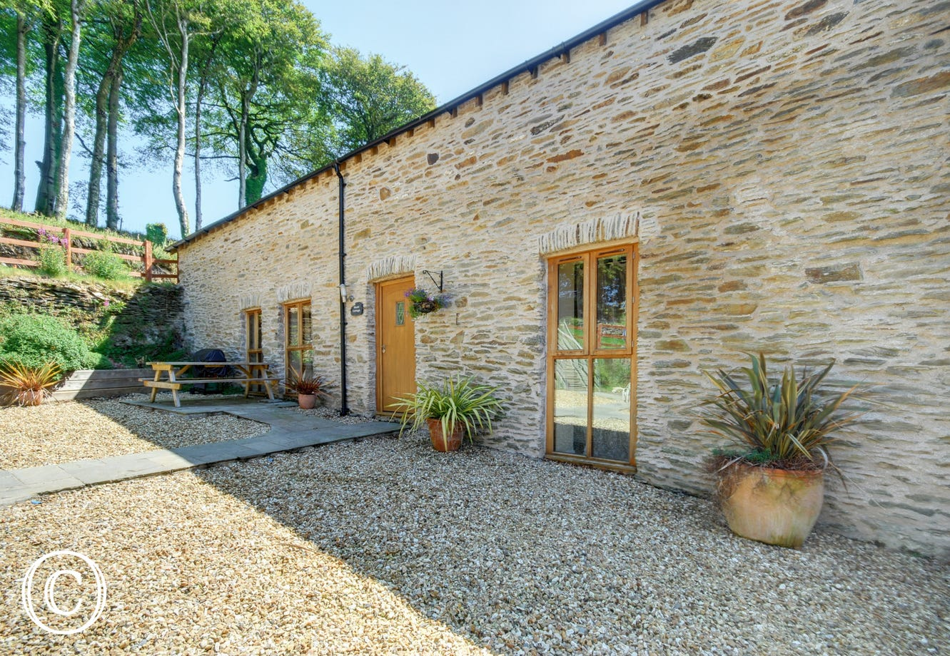 This fabulous barn conversion with eco credentials nestles in beautiful countryside