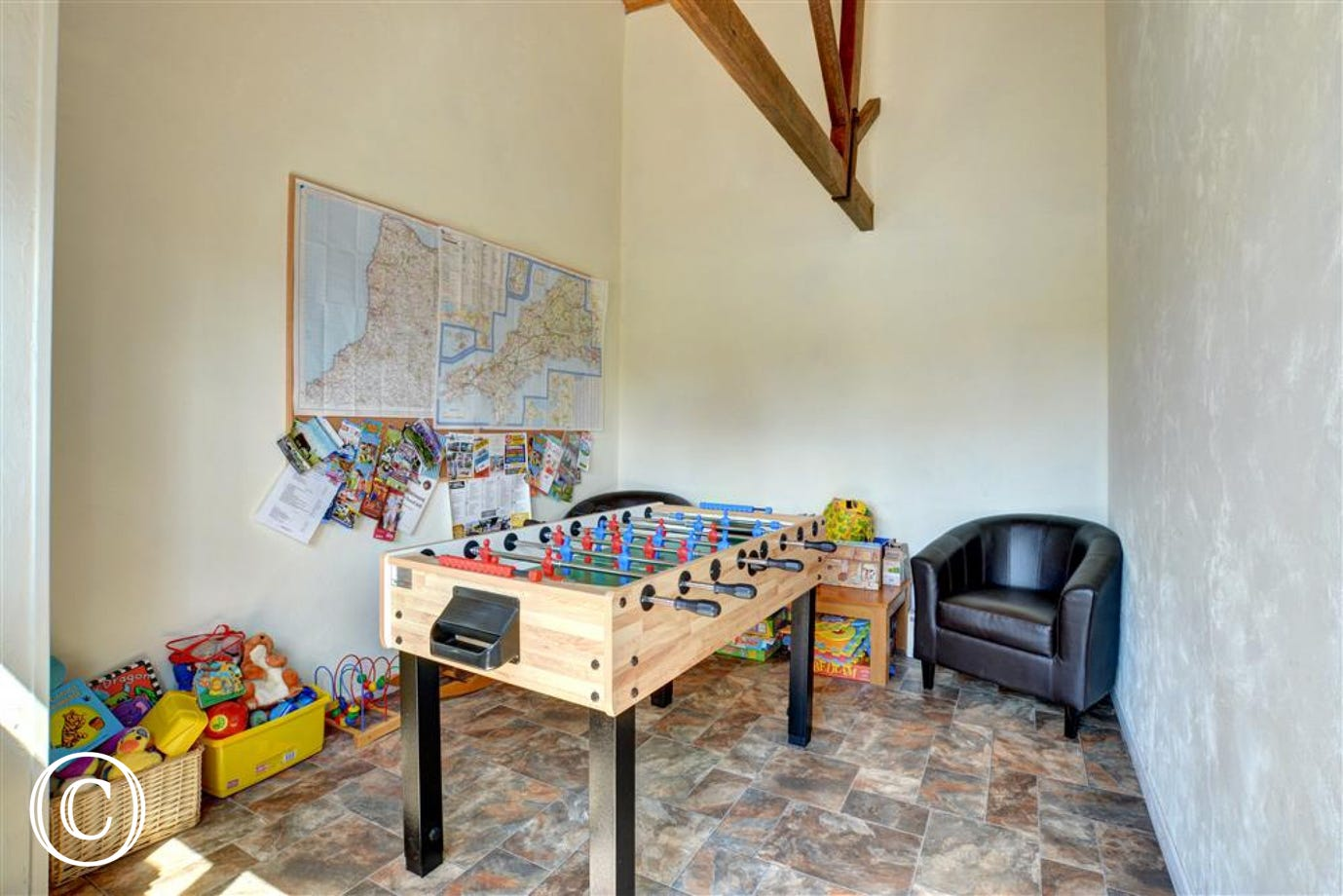 Well Farm communal games room