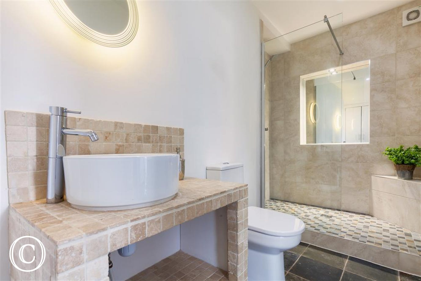 Oyster Cottage, Shaldon - Bathroom