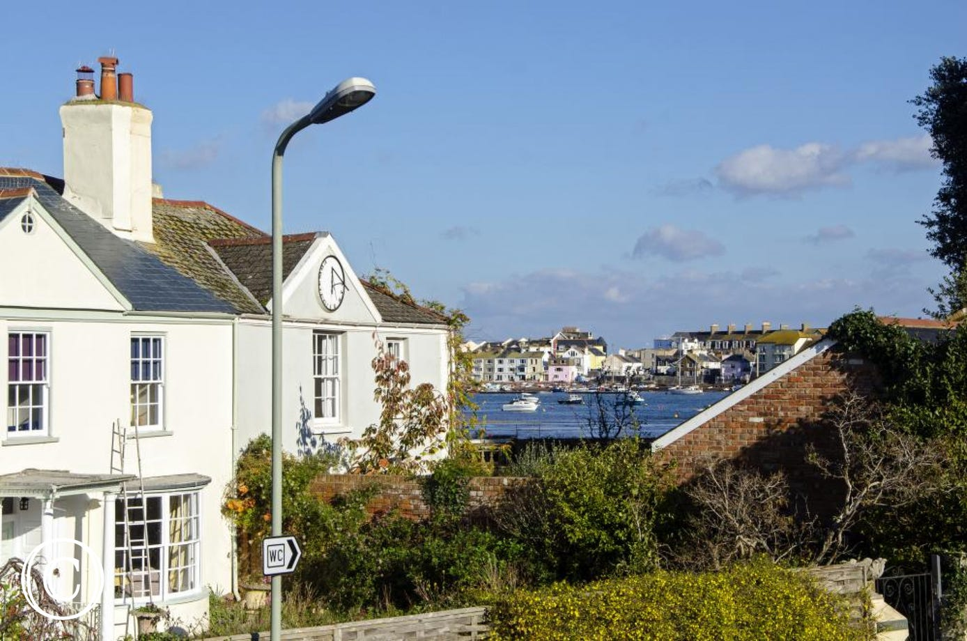 Oyster Cottage, Shaldon - View from window