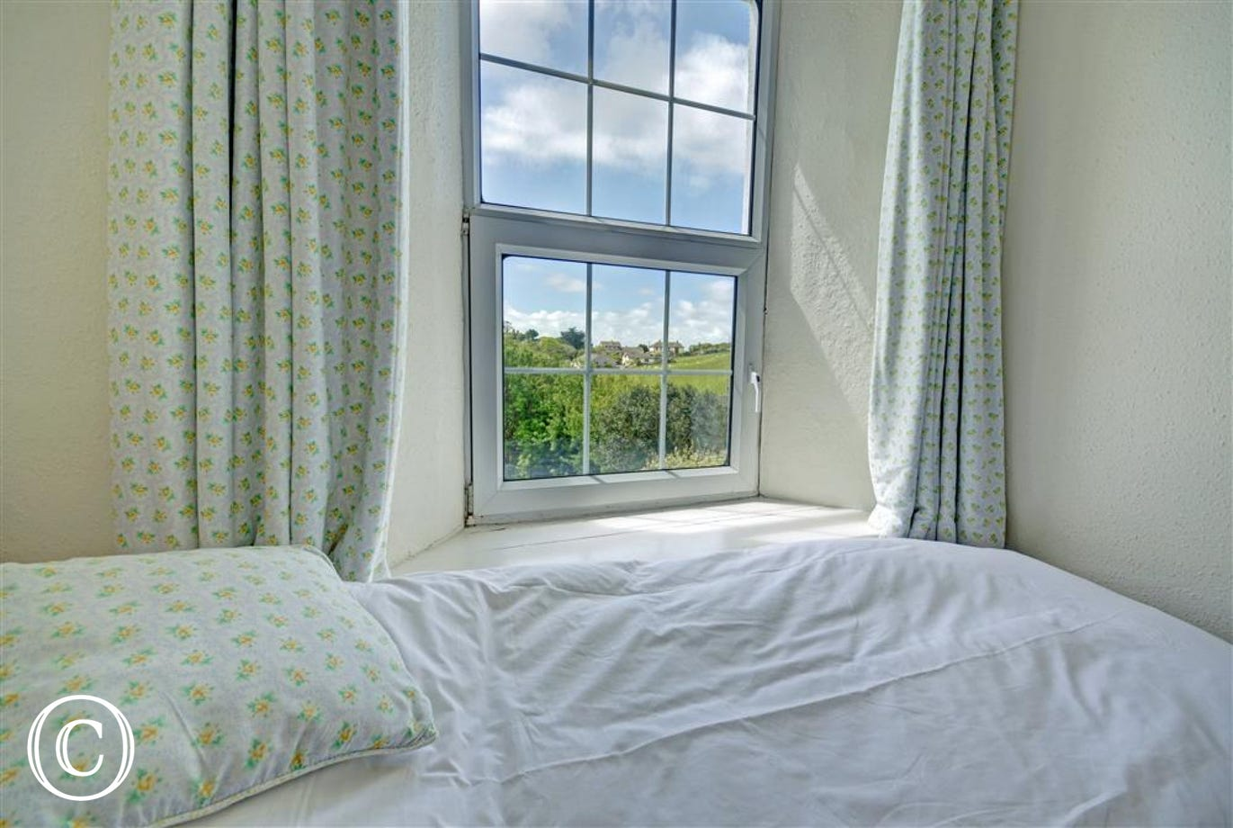 View from twin bedded room