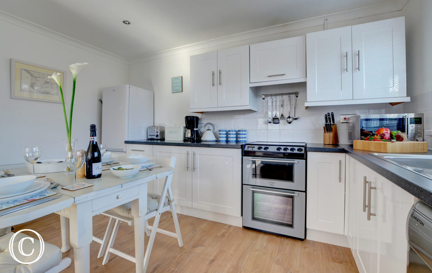 The kitchen is well equipped and will have everything you need for your stay