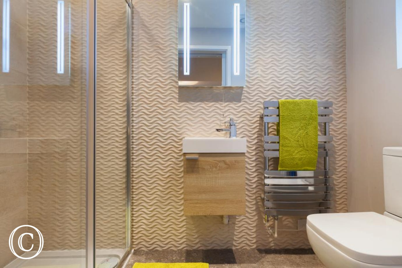 En-suite shower room to Bedroom 3