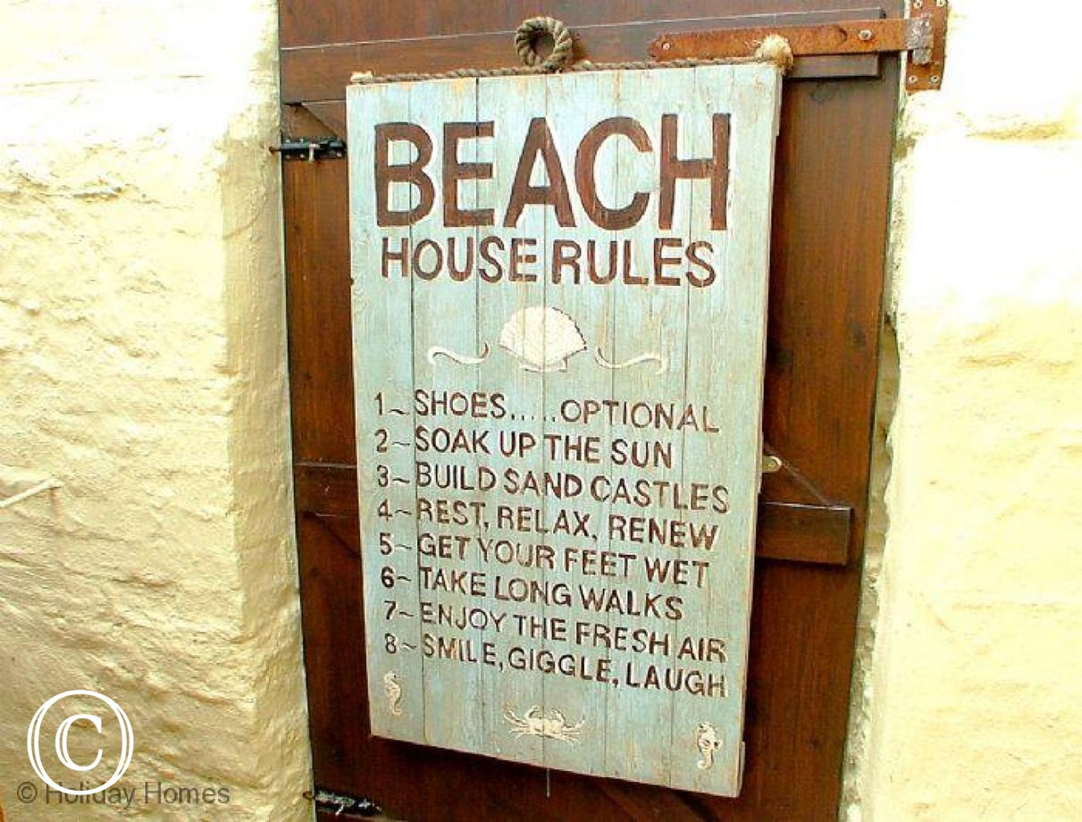 Coastguard Cottage Paignton - Be Sure to Follow the Rules!
