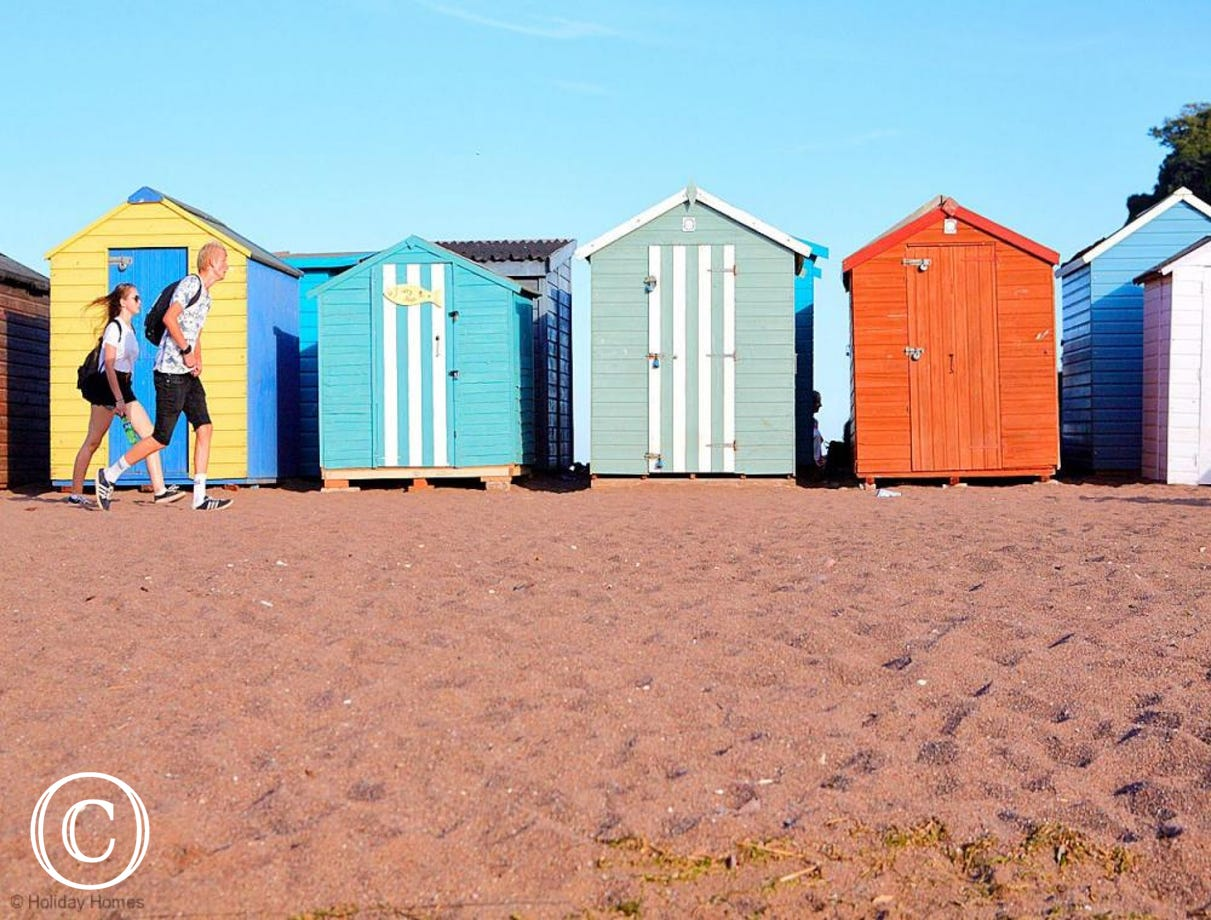 Quayside Cottage Teignmouth - Beach Huts on the sands