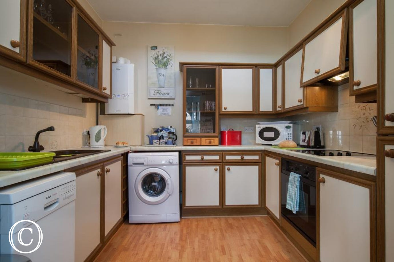 fully fitted kitchen with utilities