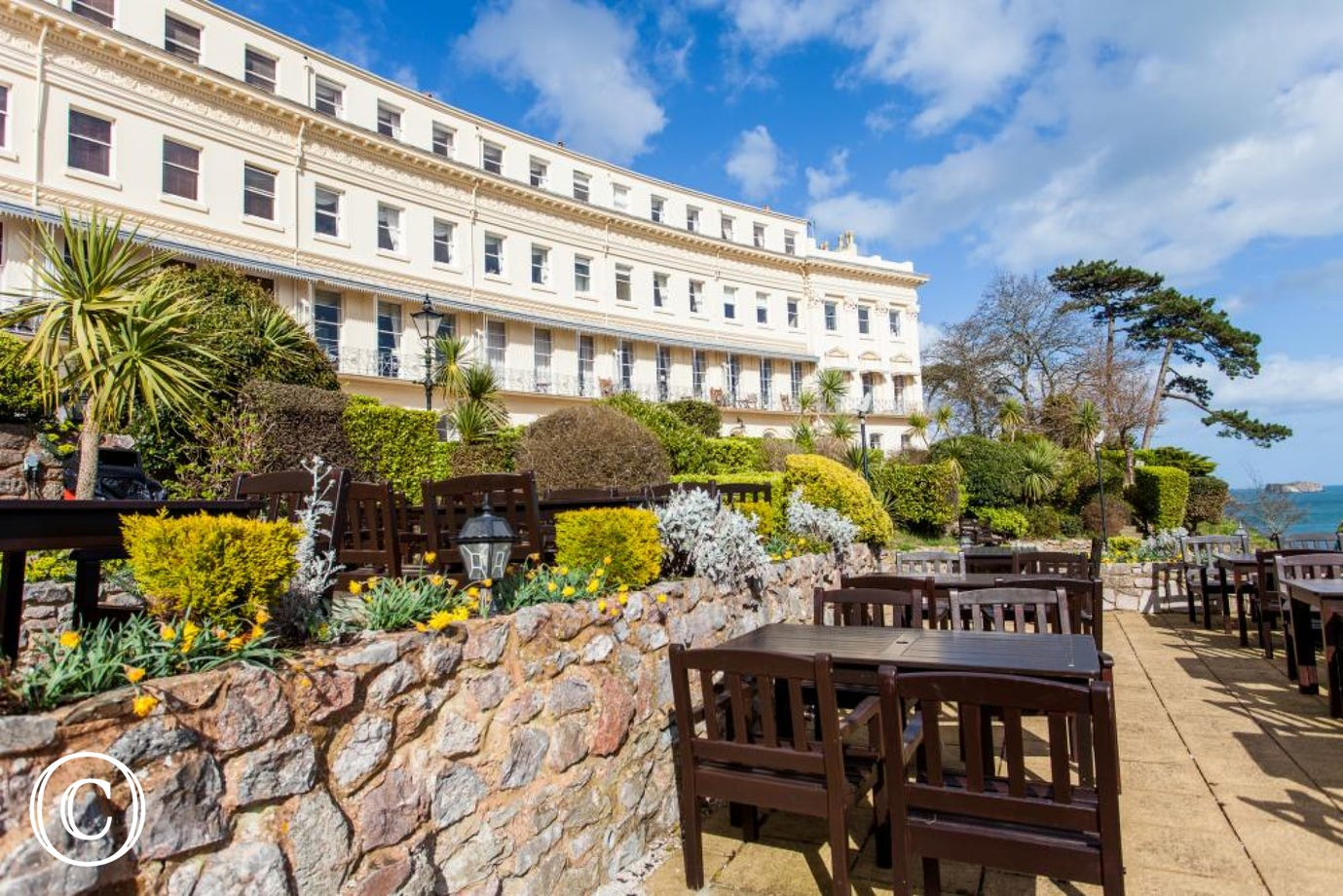 The Iconic Hesketh Crescent with Al Fresco Dining Area