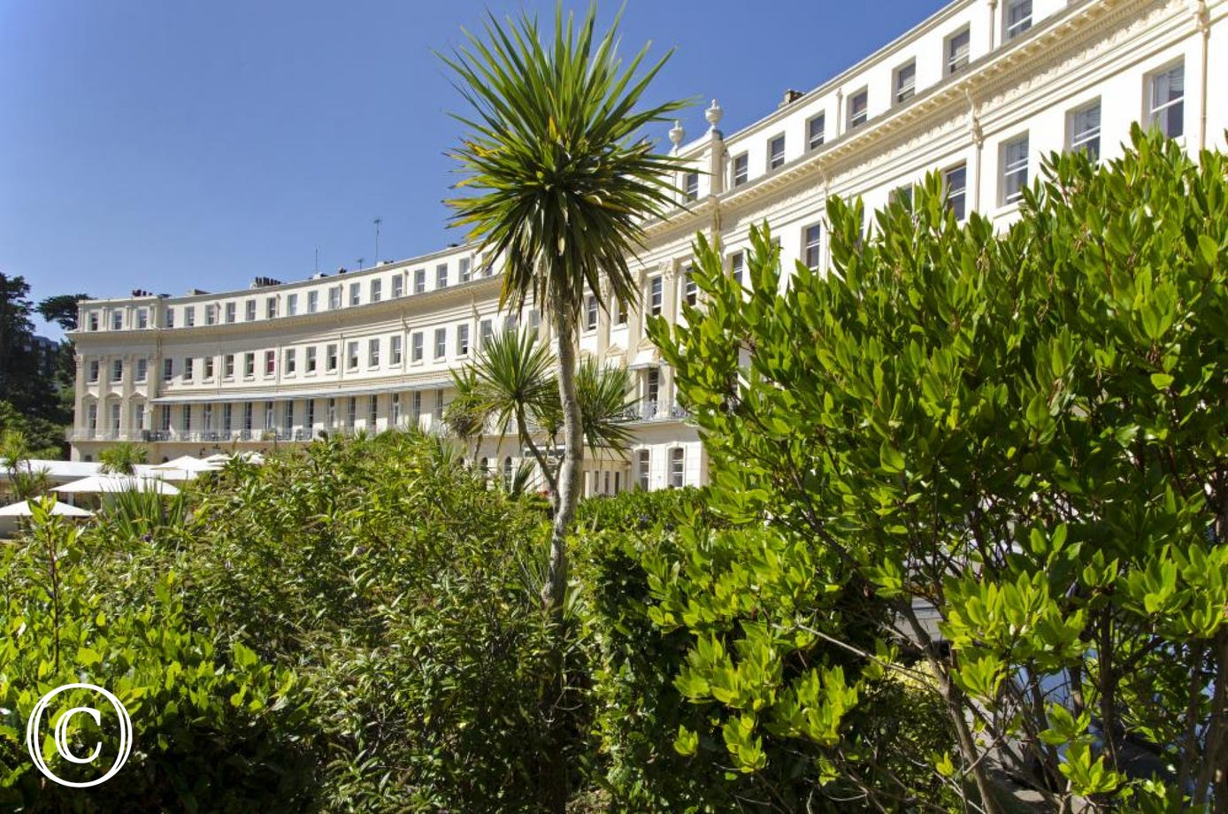 The Iconic Building of Hesketh Crescent in Torquay