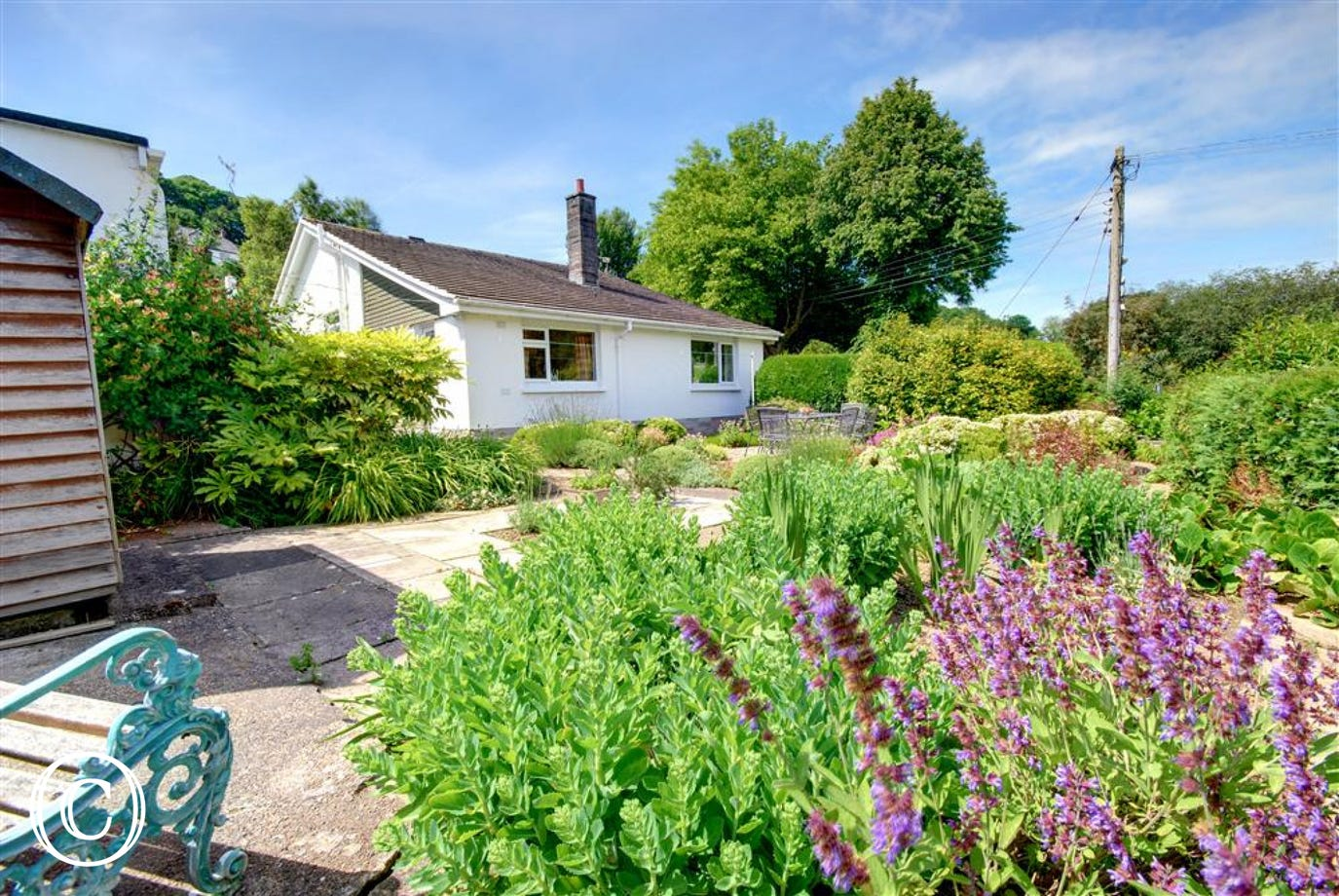 Detached holiday home yards from the Tarka Trail and the village amenities