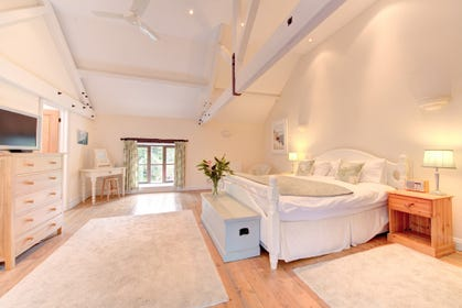 Stunning master bedroom which is enormous!