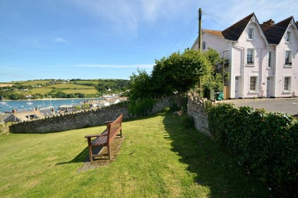 View of Salcombe Harbour from 1 Charborough House