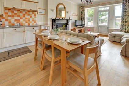 Enjoy meals together in the open plan living area