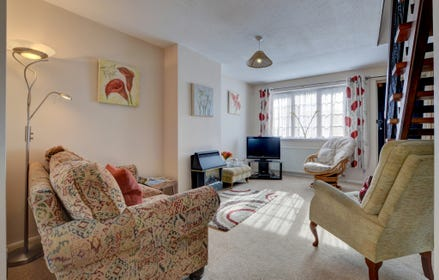 The property benefits from having two sitting rooms