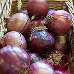 Pic of Red Onions - Bideford Quay