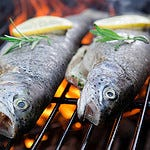 Pic of grilled fresh fish