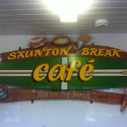 Saunton Break cafe logo