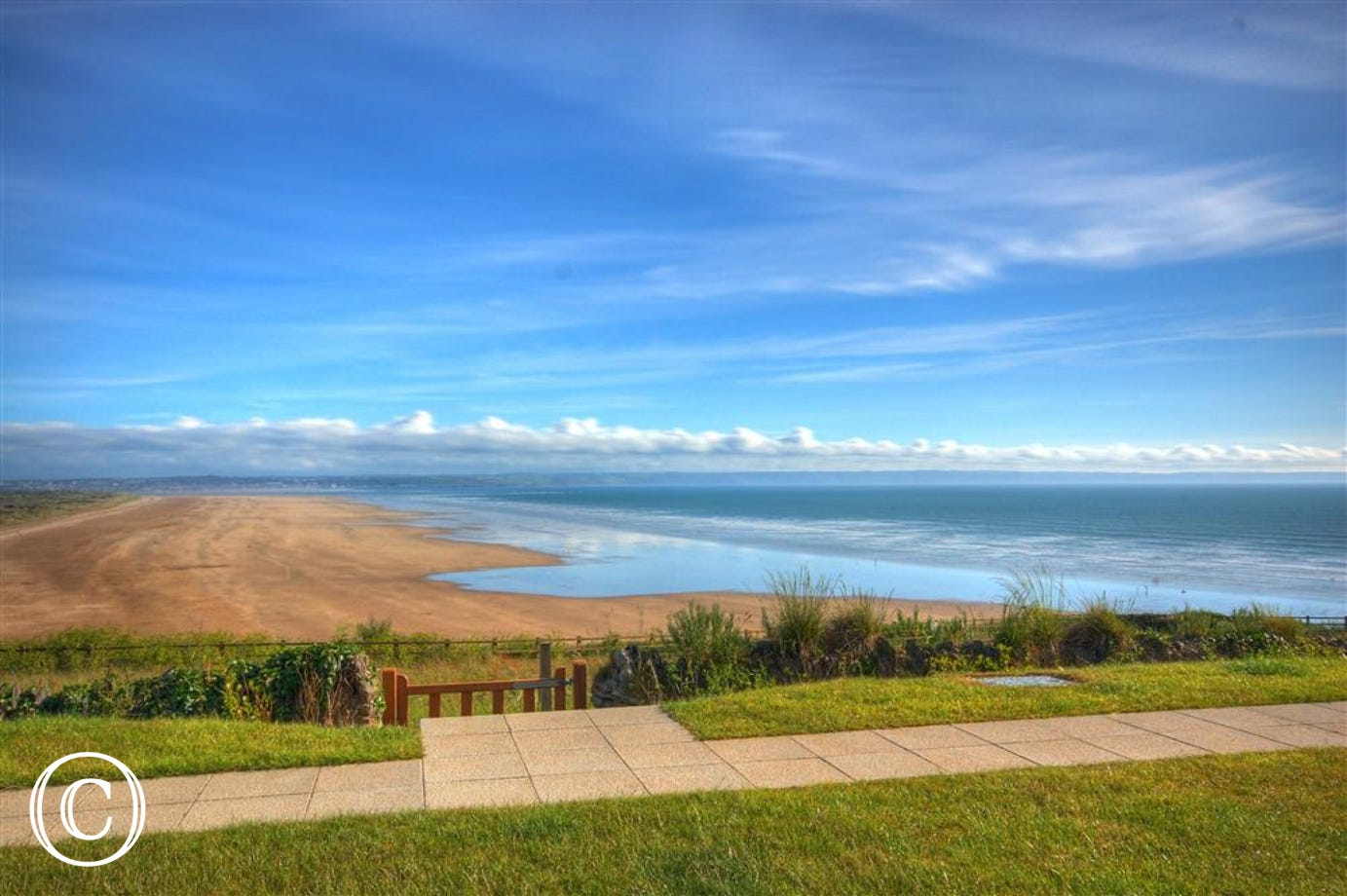 Unrivaled views from this beautiful contemporary Saunton apartment