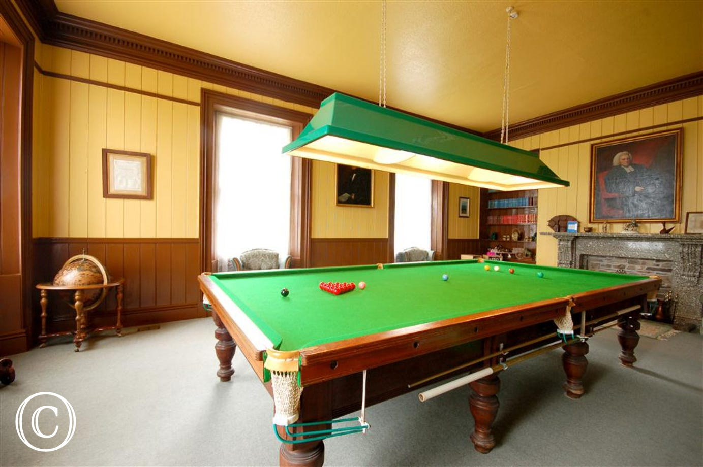 Games room for all the family to enjoy