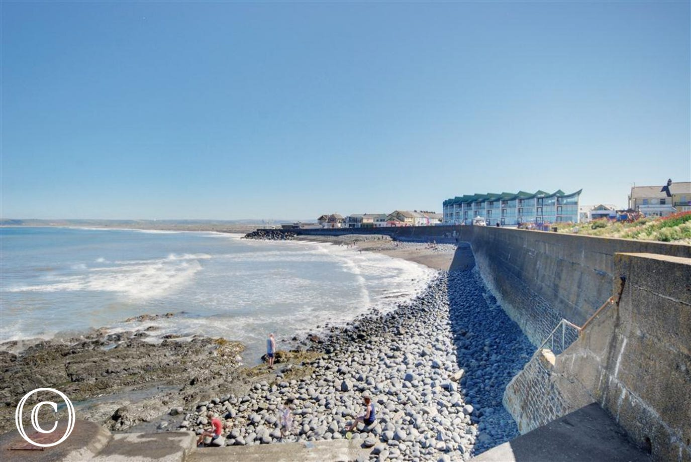 Here you can see Westward Ho!