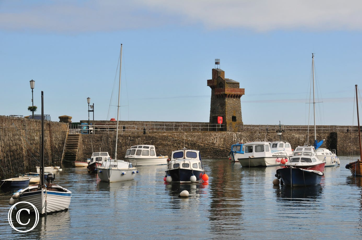 Lynmouth harbour is just a 5 minute walk away