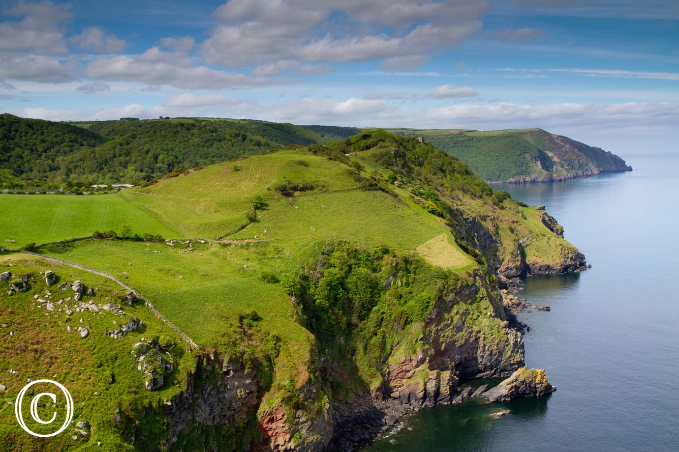 Valley of Rocks is just a short drive away