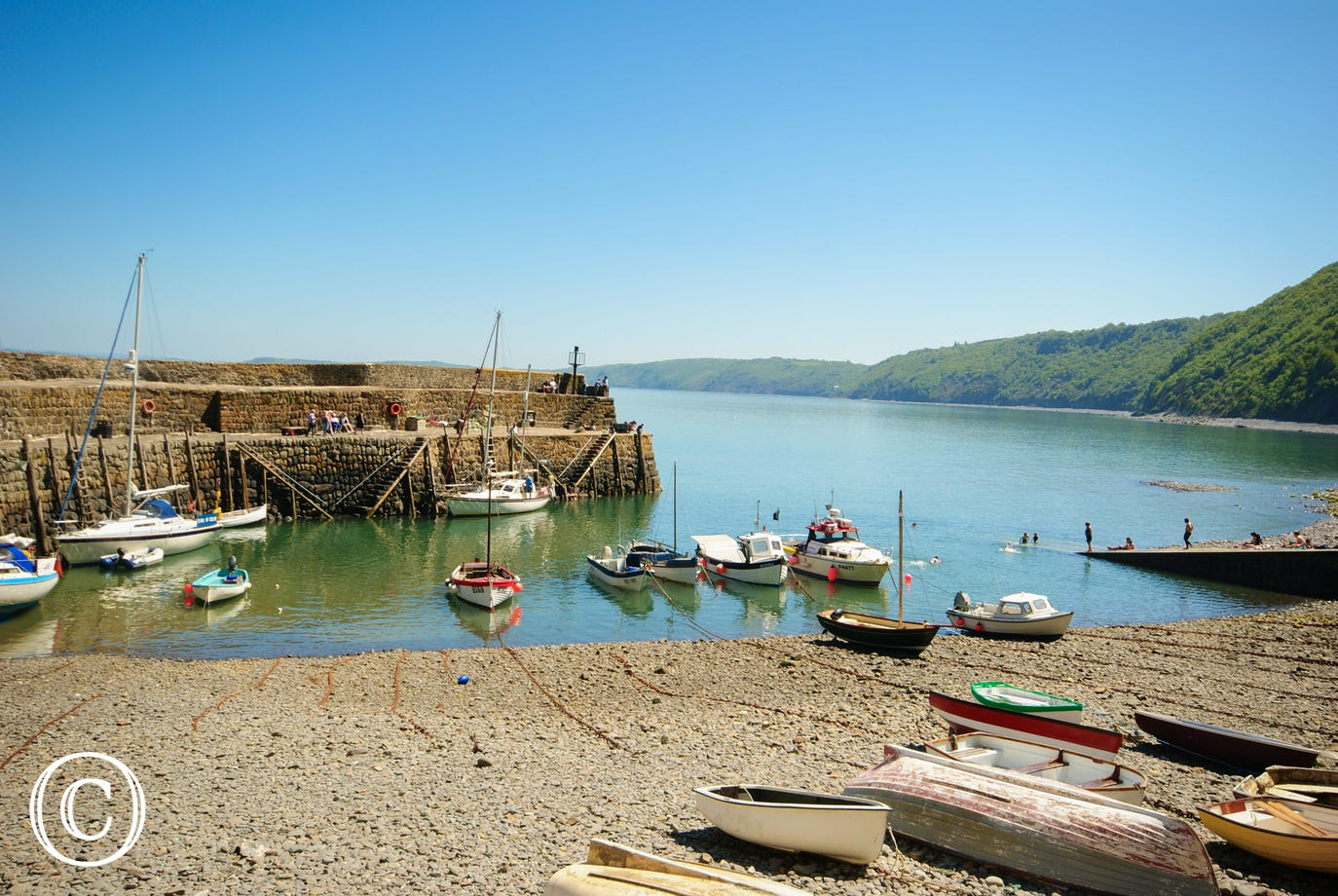 The historic fishing village of Clovelly is approximately 4 miles away