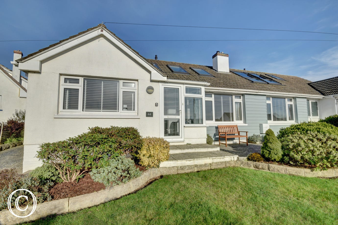 This deceptively spacious property is situated in a quiet residential area of Braunton