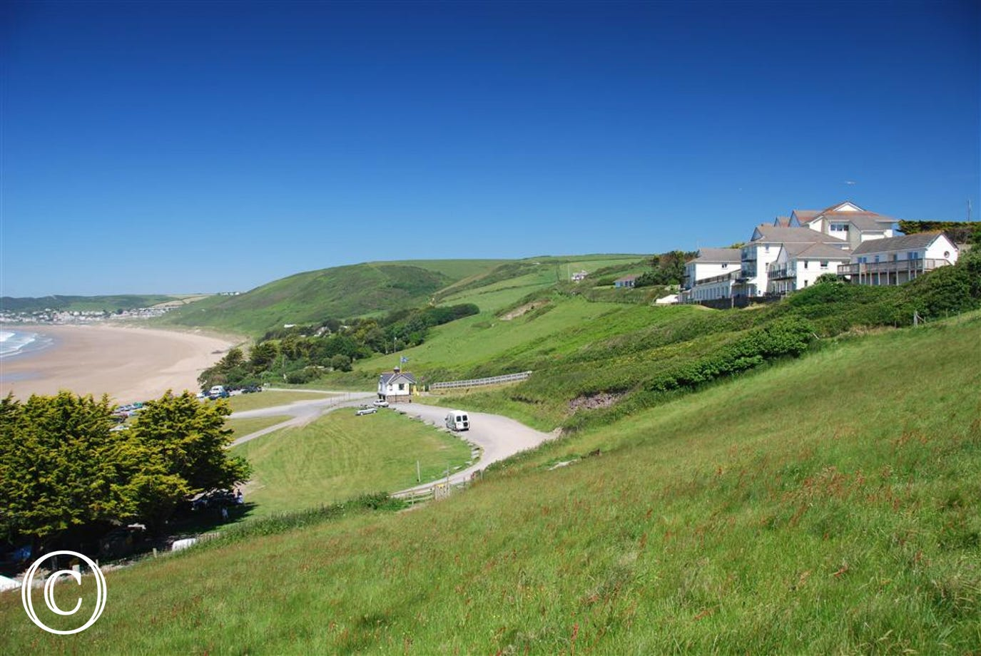 Spectacular views whilst enjoying a walk from Putsborough to Woolacombe.