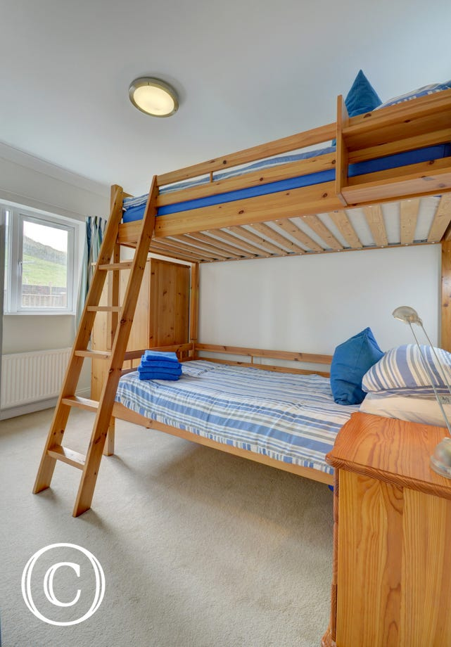 Kids will love the bunk room!