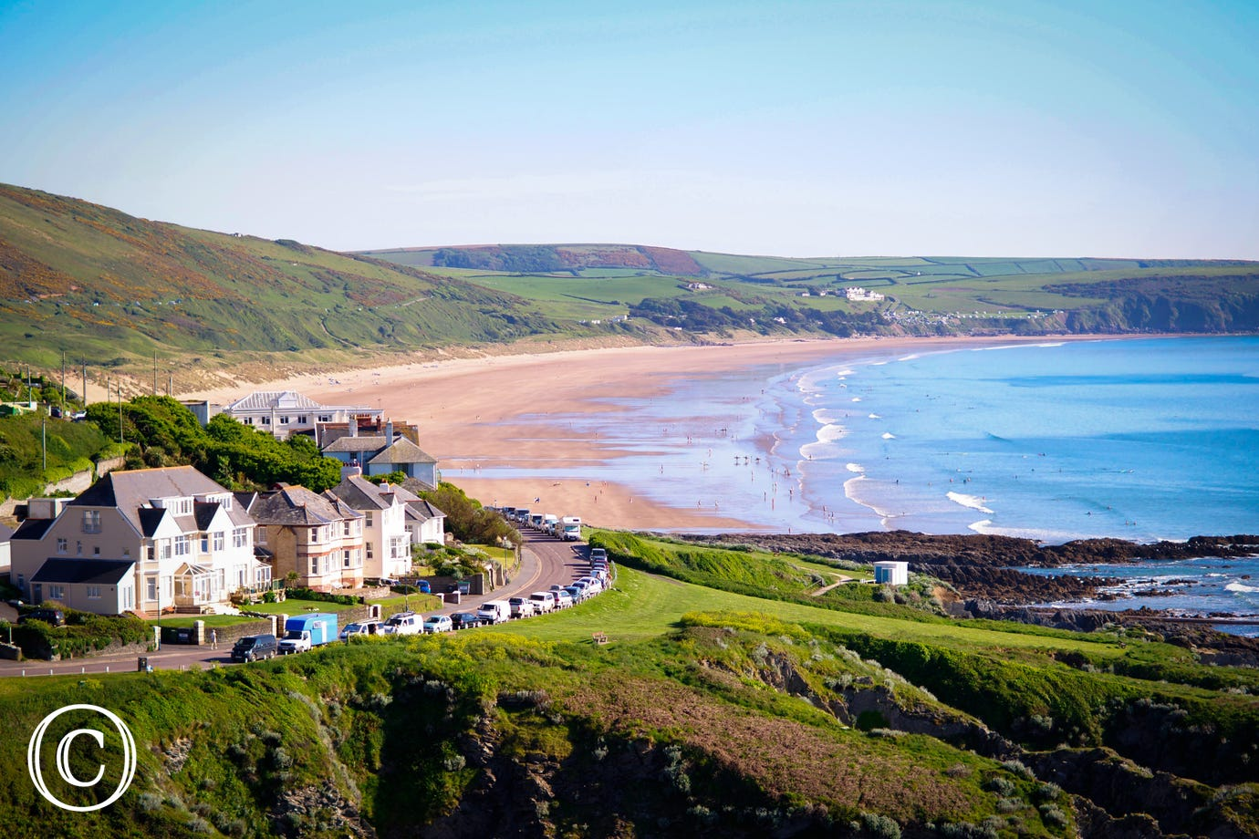 Woolacombe beach is just a short walk away!