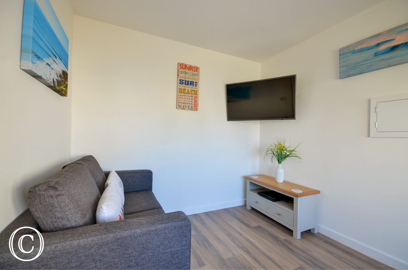 The recently added snug which will give the children space to relax and watch a good film