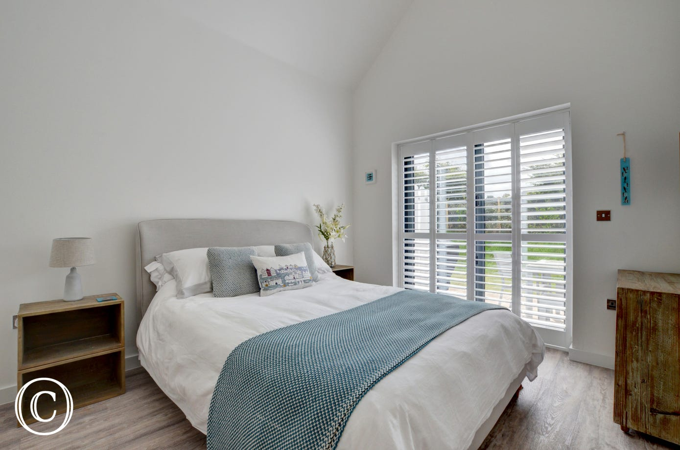 The ground floor double bedroom with ensuite is ideal if a member of your party has mobility issues