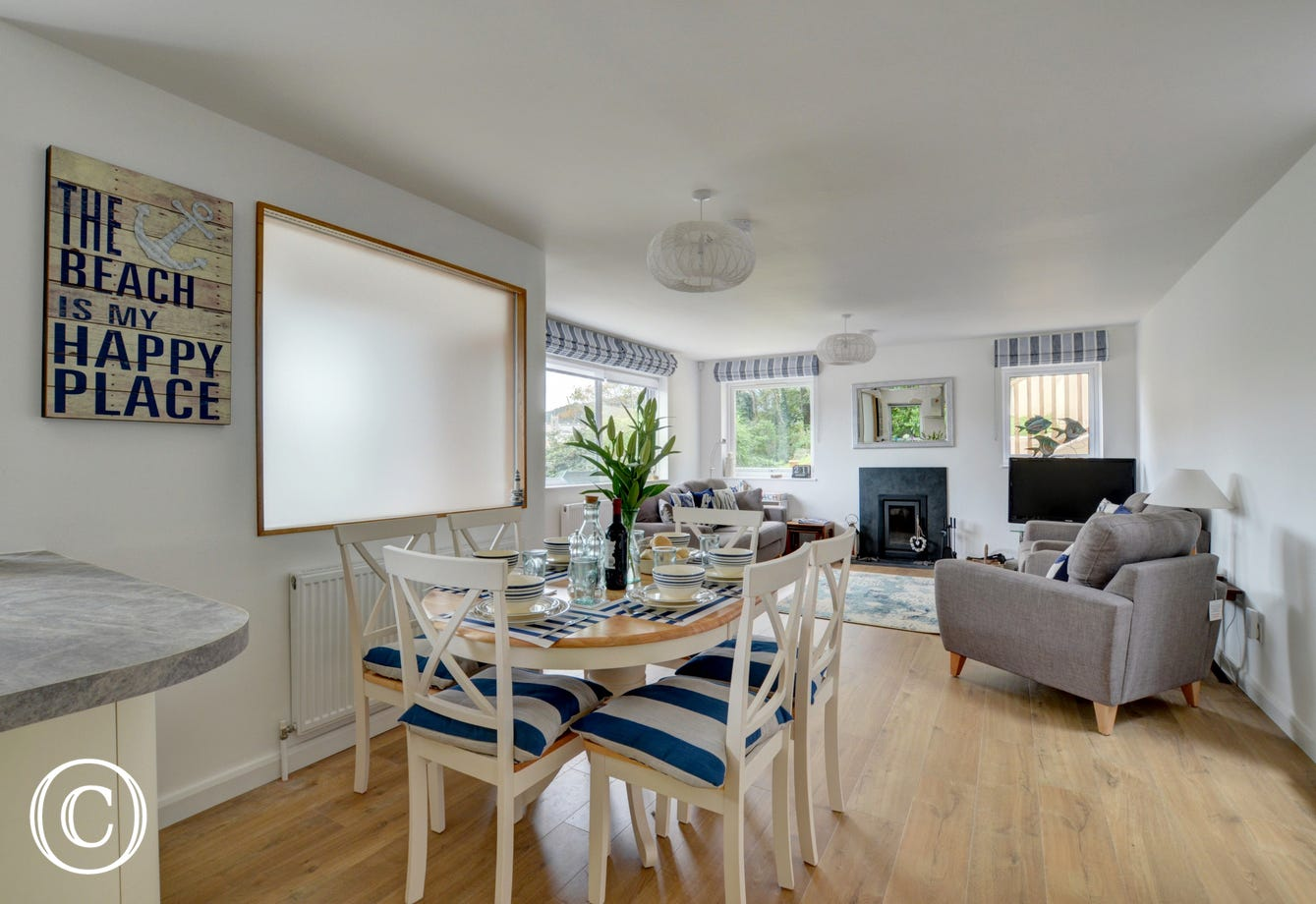 A wonderful open plan space to enjoy with family and friends