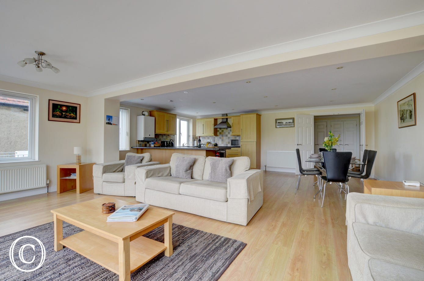 A beautifully presented, spacious modern apartment, furnished to a high standard