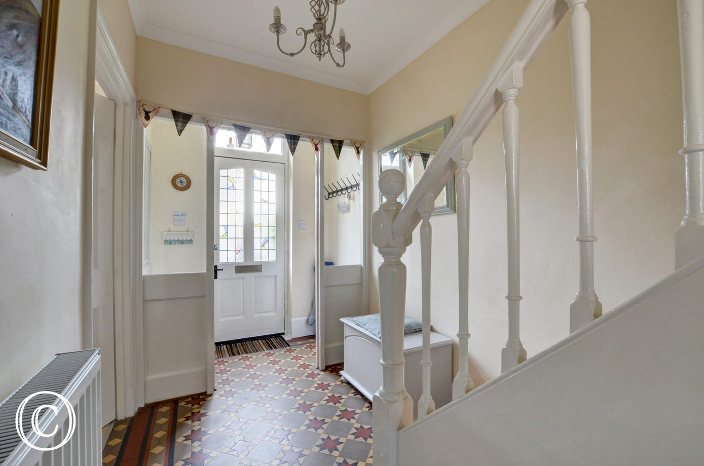 Entrance hall to Pips Corner