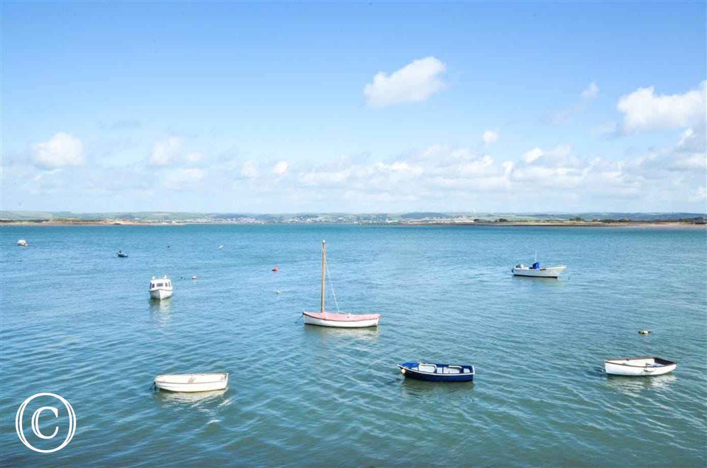 The quay is a short walk from the property and is an excellent place for the children to go crabbing