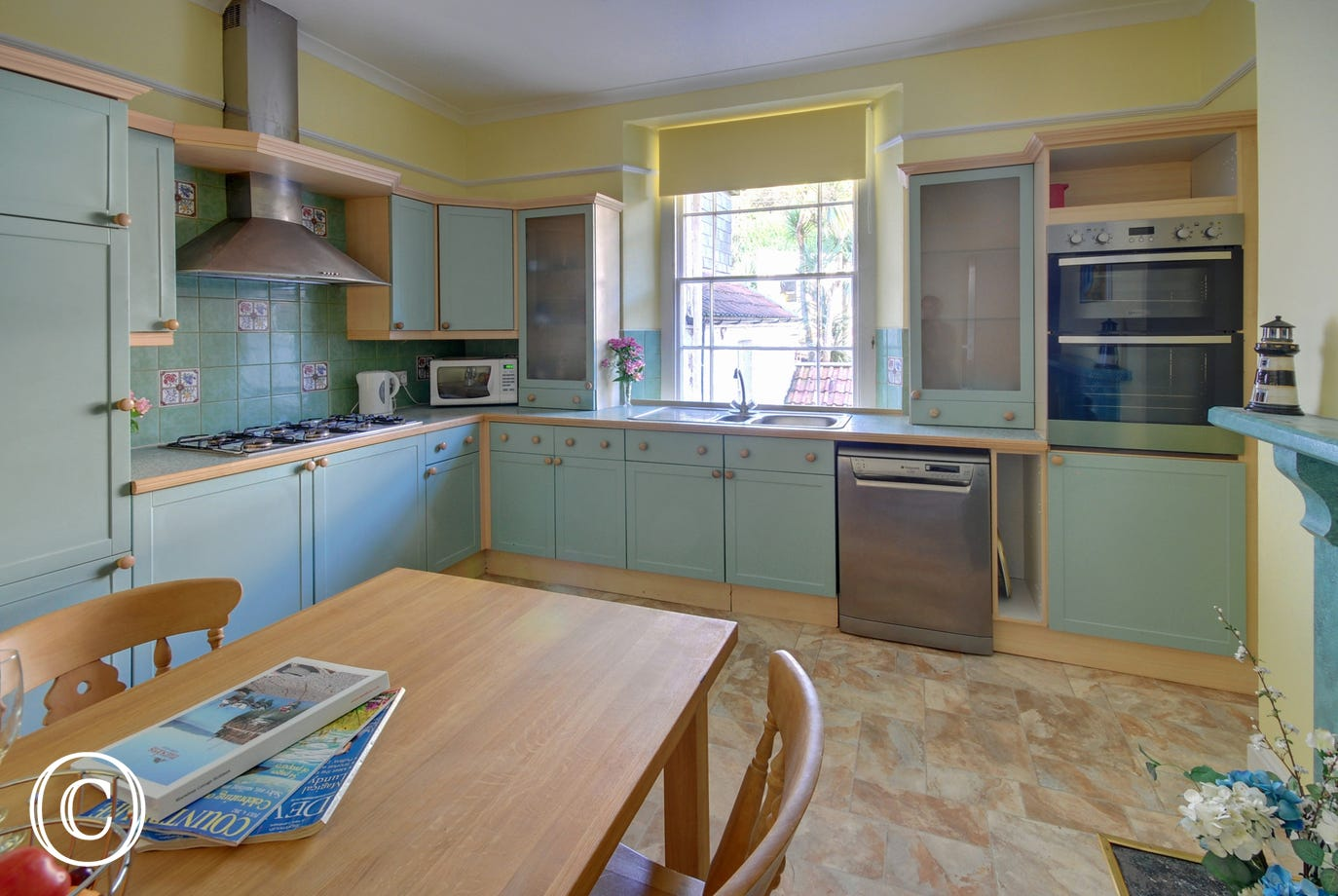 With views to the rear the well equipped kitchen/breakfast room is adjacent to the sitting room