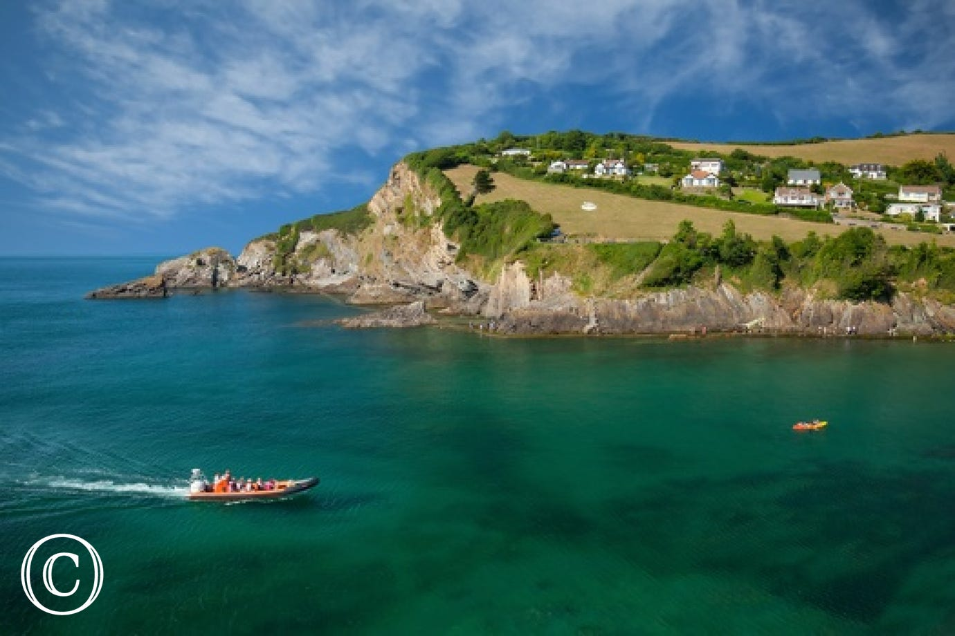 Combe Martin has wonderful coastal walks and a lovely beach with fabulous rock pools that the children will love