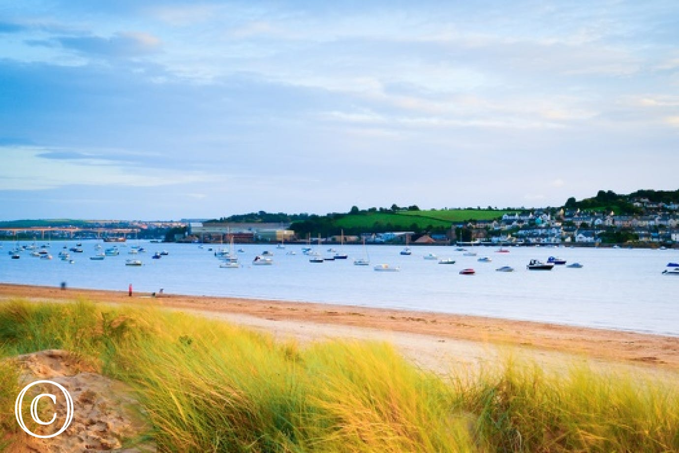 Beautiful Instow beach is just a minutes walk away