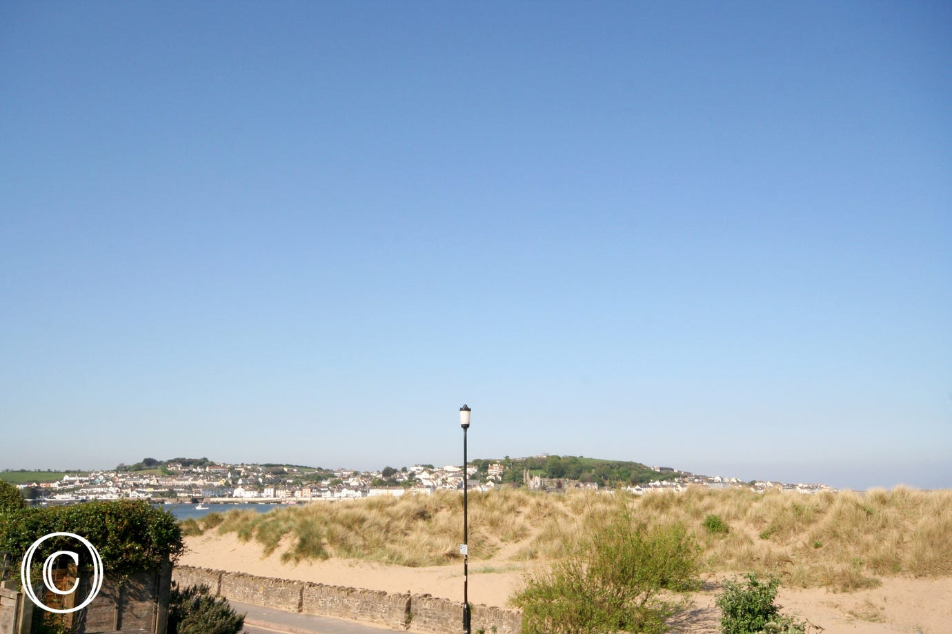 View of the estuary from the rear of the property